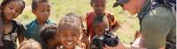 Local Bongolava children fascinated with the camera |  <i>Gesine Cheung</i>