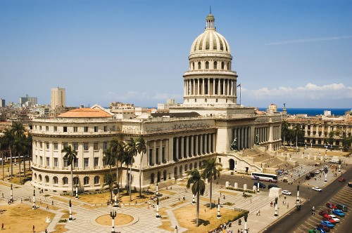 El Capitolio, National Capitol Building in Havana, Cuba