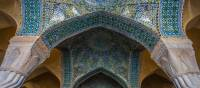 Elaborate designs of Esfahan's Shah Mosque | Richard I'Anson