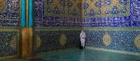 Intricate designs adorn the walls of mosques throughout Iran | Richard I'Anson