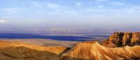 Panoramic views over the Dead Sea