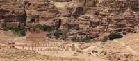 Ancient ruins and cliffs of Petra | Rachel Imber