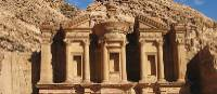 The Monastery at Petra | Gordon Steer