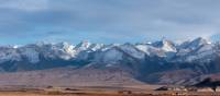 Dramatic scenery on the drive near the Kyrgyzstan border | Rachel Imber