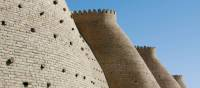 The outer wall of the Citadel in Bukhara | Rachel Imber