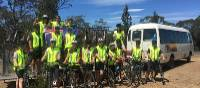 Students cycling in Tasmania | Holly Van De Beek