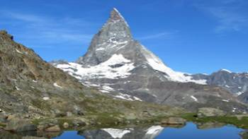 A moment of reflection, The Matterhorn | Christina Dott