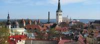 The Estonian capital of Tallinn