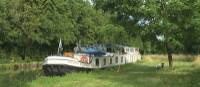 The Anna Maria IV barge on Loire Valley Bike & Barge