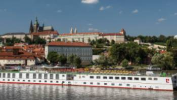 The Category A barge Florentina in Prague