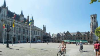 Explore the old town of Ghent on an active holiday with UTracks