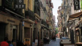 Pamplona tapas street | Andreas Holland
