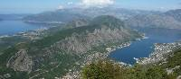 Overlooking magical Kotor Bay in Montenegro
