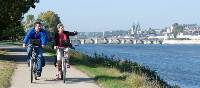 Cycling in Blois, Loire Valley