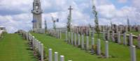 Villers Bretonneux cemetery outside of Fouilloy in the Somme region