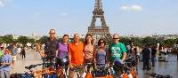 Cycling on the Paris to London cycle path