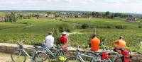 Taking a break from the bikes in Burgundy | Jaclyn Lofts