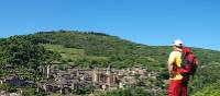 Looking toward Conques