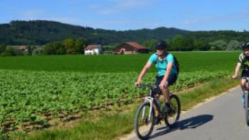 Cycling near Lake Constance | Erin Williams