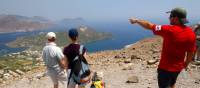 Guide showing Aeolian Islands, Sicily