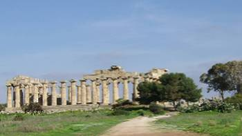 Selinunte, the largest archaeological site in Europe,