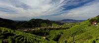 The spectacular hills of the Prosecco region