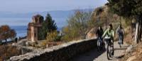 Cycling near Ohrid
