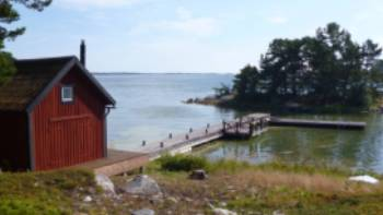 One of the many islands in the archipelago off Stockholm | Jacyln lofts