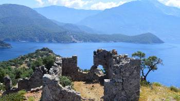 Ruins on the Lycian Coast | Erin Williams