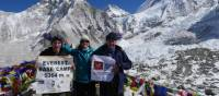 Charity challenge trekkers on the Everest Base Camp Trek | Michael Dillon