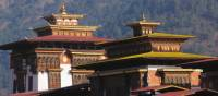 Adorned facade of Punakha Dzong in Bhutan | Liz Light