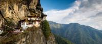 The sacred Taktsang Monastery in Bhutan is also referred to as the Tiger's Nest monastery. | Richard I'Anson