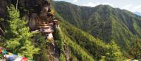 The Tiger's Nest monastery in the Paro District, Bhutan | Scott Pinnegar