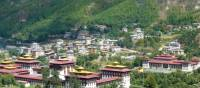 Verdant landscape around Thimphu | Gavin Turner