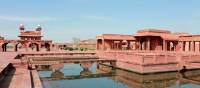 The inner grounds of Fatephur Sikri | Rachel Imber