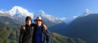 Father and son at Ghandruk | Brad Atwal