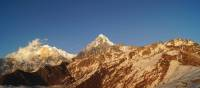 Spectacular sunshine over the Annapurna Mountain Range | Ashley Hewson