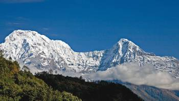 Clear views of Annapurna South | Peter Walton