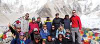 Group photo at Everest Base Camp | Kylie Turner