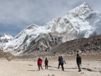 Trekking towards Everest Base Camp |  <i>Ayla Rowe</i>