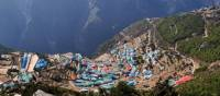 Local village of Namche Bazaar | Heike Krumm