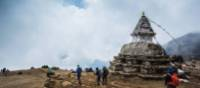 Buddhist stupa on the trail to Everest Base Camp | Mark Tipple