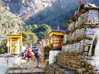 Trekking in the Everest region, Nepal |  <i>Tracey Hamill</i>