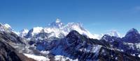 Breathtaking scenery from the top of Gokyo Ri | Kylie Turner