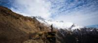 Enjoying the view over the Annapurna range | Mark Tipple
