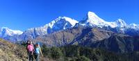 Spectacular views follow you in the Annapurna region | Brad Atwal