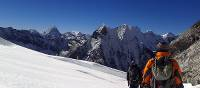 Climbers descending from Island Peak | Bir Singh Gurung