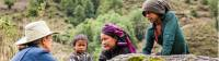Engaging with villagers that rarely encounter trekkers |  <i>Lachlan Gardiner</i>