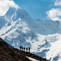 Why trek? Because the world's most spectacular wilderness regions can only be reached on foot |  <i>Lachlan Gardiner</i>