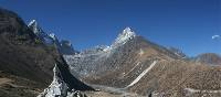 View on the way to Gokyo in the Everest region of Nepal | Keri May